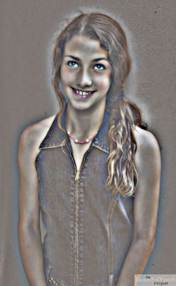 BeautifulYouth Project Model Jennifer Valeria